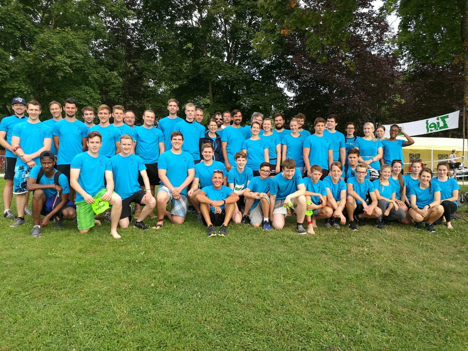 HSG mit 21 Staffeln beim Triathlon